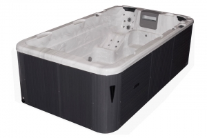 Aquatic 1 passion spa hot tub from the pure collection top view