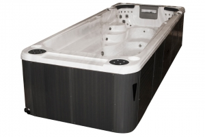 Aquatic 2 passion spa hot tub from the pure collection top view