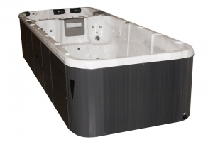 Aquatic 3 passion spa hot tub from the pure collection top view