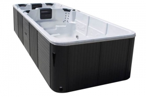Aquatic 7 passion spa hot tub from the pure collection top view