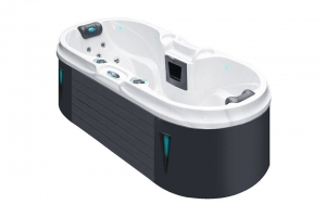 Bliss passion spa hot tub from the pure collection top view