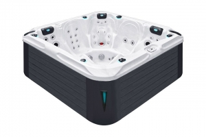 Delight passion spa hot tub from the pure collection top view