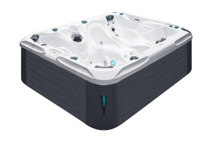 Desire passion spa hot tub from the pure collection top view