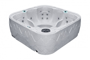 Dream 7 passion spa hot tub from the pure collection top view
