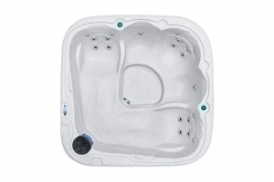 Dream 7 passion spa hot tub from the pure collection side view