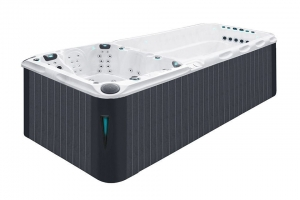 Dynamic Deep passion spa hot tub from the pure collection top view