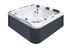Felicity passion spa hot tub from the pure collection top view