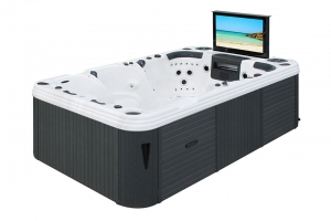 Passion Theater Spa passion spa hot tub from the pure collection top view