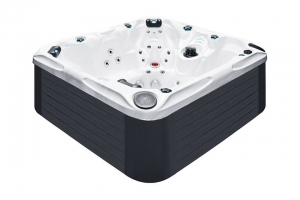 Pleasure passion spa hot tub from the pure collection top view