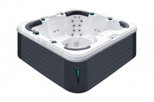 Rewind passion spa hot tub from the pure collection top view