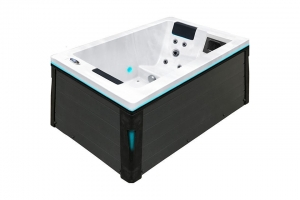 Serene 2 passion spa hot tub from the pure collection top view