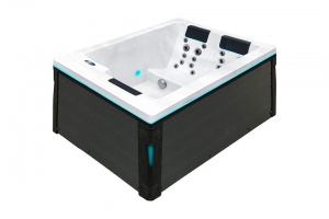 Serene 3 passion spa hot tub from the pure collection top view