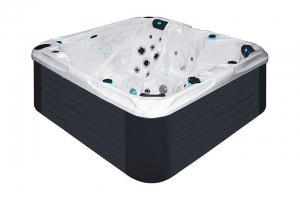 Solace passion spa hot tub from the pure collection top view