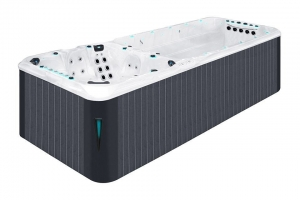 Vitality Deep passion spa hot tub from the pure collection top view